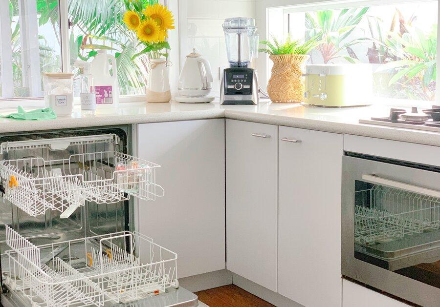 ماشین ظرفشویی خود را با این مواد ضدعفونی کنید