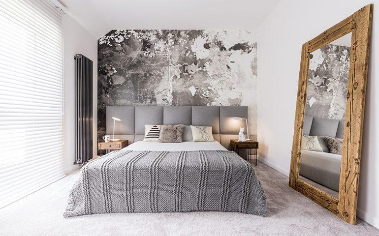 راهکارهای استفاده از کاغذ دیواری در اتاق خواب