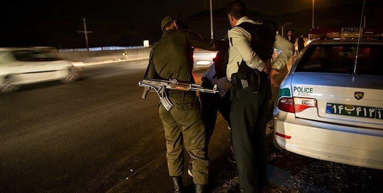 جزئیات تیراندازی در بزرگراه بعثت تهران ، سرنوشت پلیسی که چاقو خورد چه شد؟