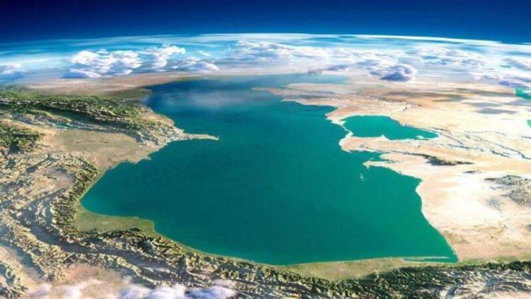 کاهش 4 سانتی متری تراز آب خزر در سال جاری
