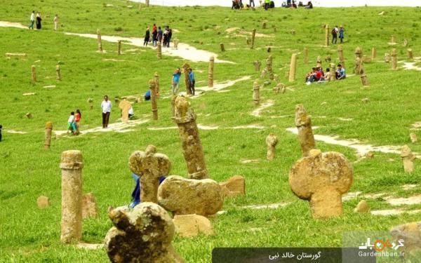 گورستان تاریخی خالد نبی در گلستان، عکس